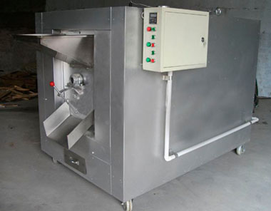 Carbon Steel Peanut Roaster Machine