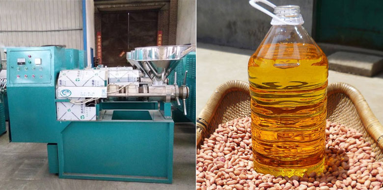 Peanut Oil & Peanut Oil Press