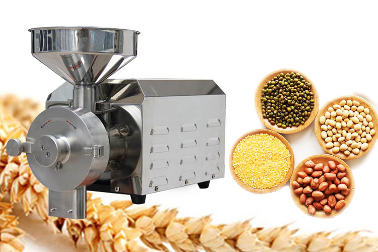 Small electric grain mill