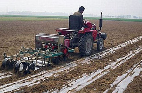 peanut mechanization sowing