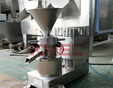 70 stainless steel peanut butter machine