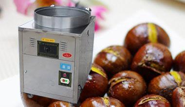 Electric Chestnut Roaster Machine Mobile Chestnut Roaster